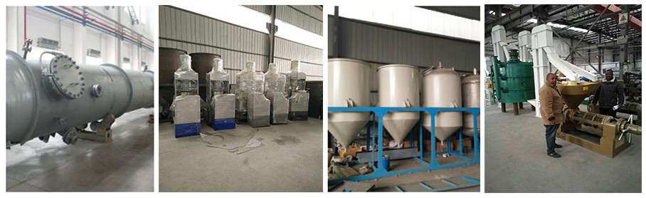 soybean screw oil press machine