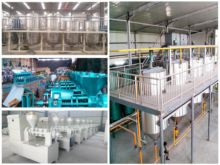 First class oil production crude rapeseed oil refinery equipment with CE