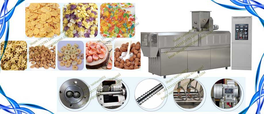 Raw Corn Flake make machinery/Automatic Instant PorriLDe baby Food machinery