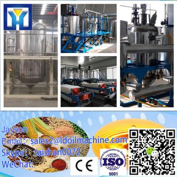 2014 Newest technology! crude canola oil refinery plants with stainless steel