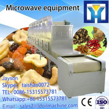 Industrial conveyor belt tunnel type microwave rice powder noodles dryer drier drying machine equipment