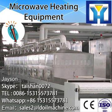 Conveyor belt microwave sterilizing oven for tomato sauce