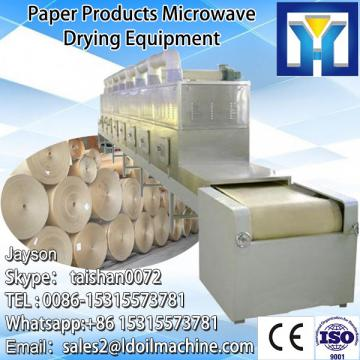 Industrial microwave dryer and sterilization oven for grain