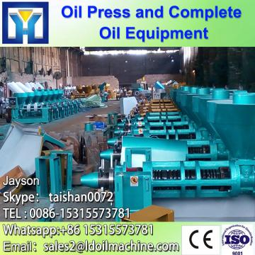 Long using life castor bean oil processing line