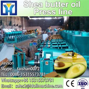 Continuous crude soybean oil refinery for Peru