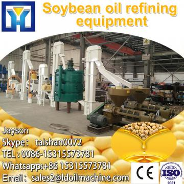 High efficiency castor seed crude oil refinery plant