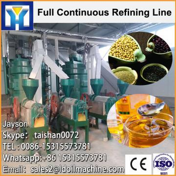 Continuous cooking oil refinery machine