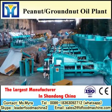 First class oil production crude peanut oil refinery equipment with CE