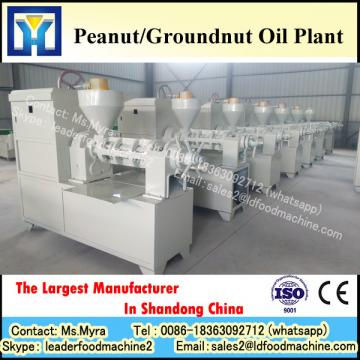 Full automatic crude groundnut oil refining machine with low consumption