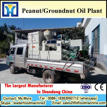 Continuous system crude groundnut oil refining plant with PLC control