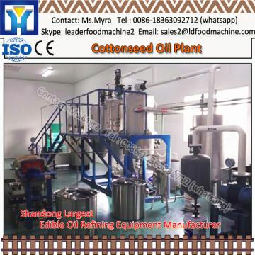 Semicontinuous processing Camelina sativa oil making line