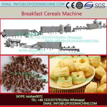 Automatic crisp Corn Flakes Breakfast Cereal make machinery
