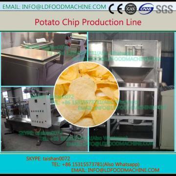 China 250kg per hour French fries make machinery