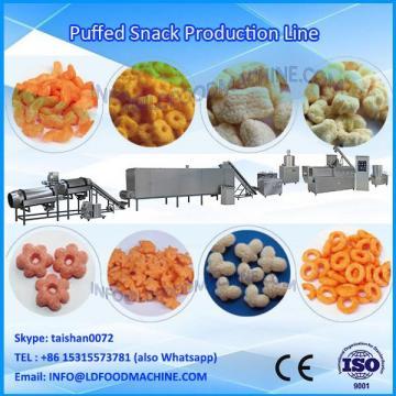 Puffed corn cheese ball make machinery puffed snacks processing line