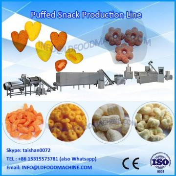 China inflating snacks food production