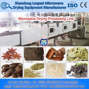 Microwave Sawdust Drying Process Line