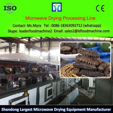 Microwave Space Cotton Drying Process Line