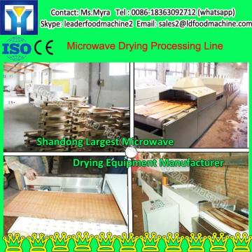 Microwave Honeysuckle Drying Process Line