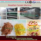 Automatic breakfast cereal corn flakes processing machinery with CE