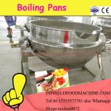 manual tiLDing electric heat  oil jacketed cooker with mixer