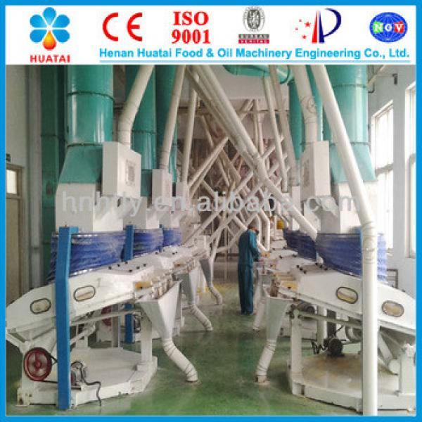2013 china best selling new type corn maize processing machine from henan huatai manufacturer #1 image