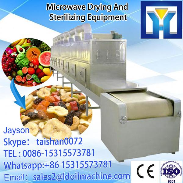 Chinese herbal medicine microwave dehydration machine-Herbs medicinal leaf microwave drying equipment #2 image