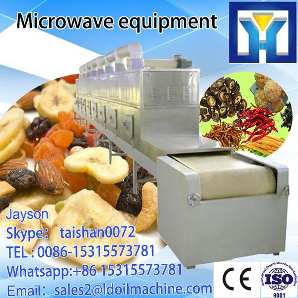 Hot pepper powder microwave drying and sterilizer equipment for sale #3 image
