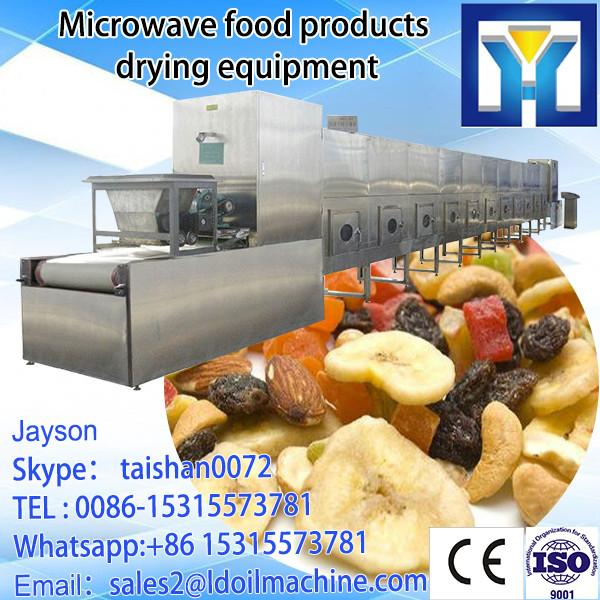 Stainless steel professional continuous microwave carrageenan powder drying equipment #1 image