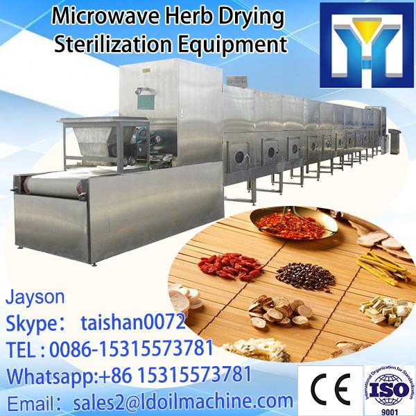 Chinese herbal medicine microwave dehydration machine-Herbs medicinal leaf microwave drying equipment #3 image
