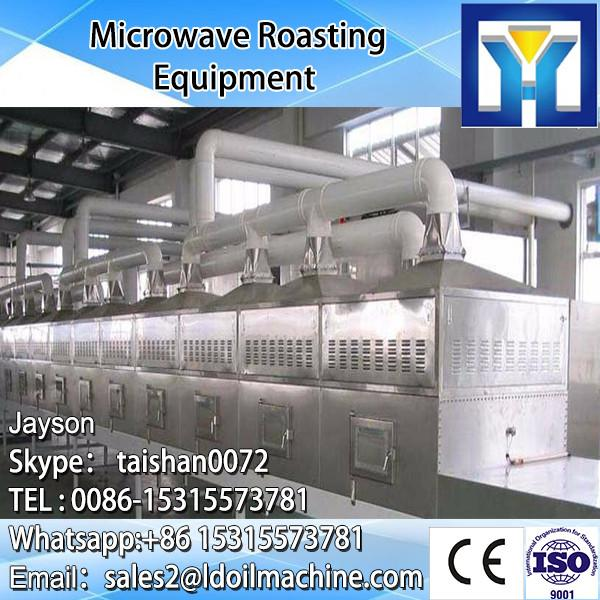 Conveyor belt tunnel type microwave dryer oven for drying seasoning #3 image