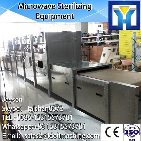 Industrial conveyor belt continuous microwave seasame seeds drying and roasting equipment with CE certificate #2 image