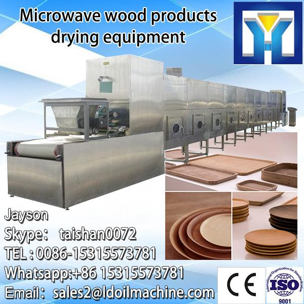 Industrial conveyor belt continuous microwave seasame seeds drying and roasting equipment with CE certificate #3 image