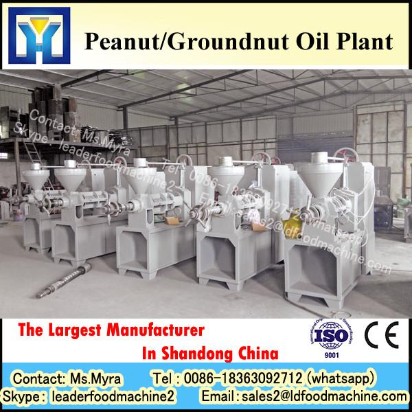 Continuous system crude chia seed oil refining plant with PLC control #1 image