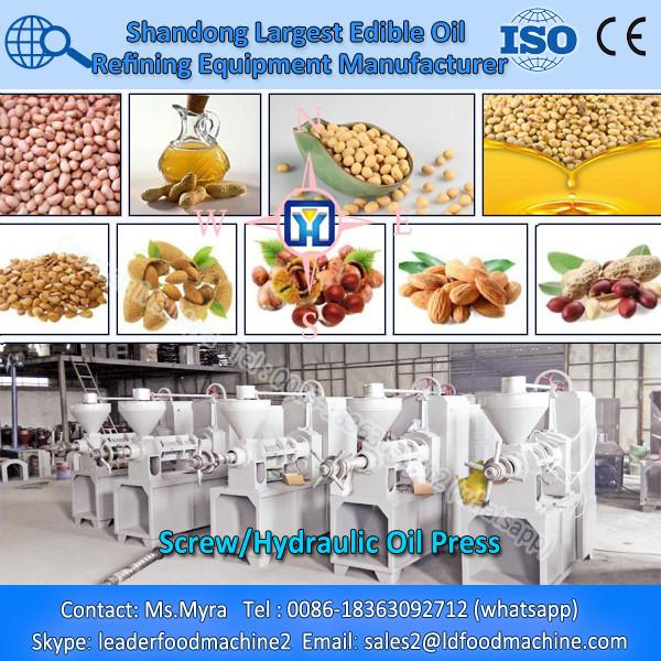 Higher efficiency crude edible oil refinery machine #1 image