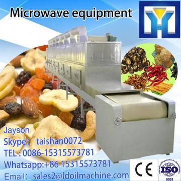 Microwave ginger powder drying dryer machine