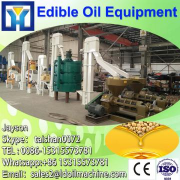 Stainless steel castor bean oil processing machine