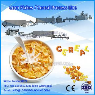 Automatic Puffed Snack Extrusion Breakfast Cereal make machinery