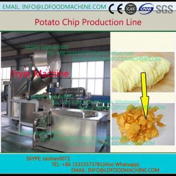 Whole set high Capacity gas Frozen fries production line