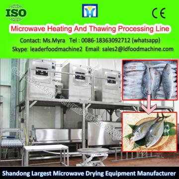 Microwave Fast Food Return Temperature Heating And Thawing Processing Line
