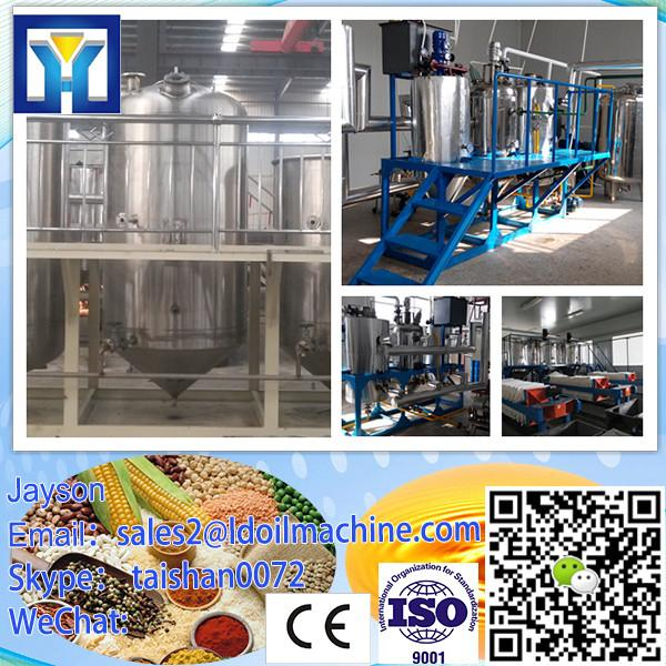Full automatic crude flaxseed oil refinery plant with low consumption #2 image