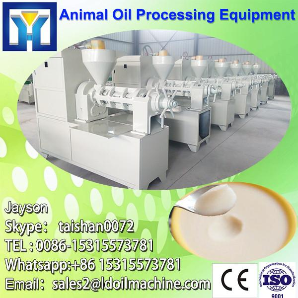 High oil percent good quality fish oil processing machine #1 image