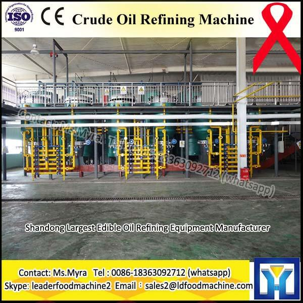 QIE 1TPD-100TPD small coconut oil refinery machine #1 image