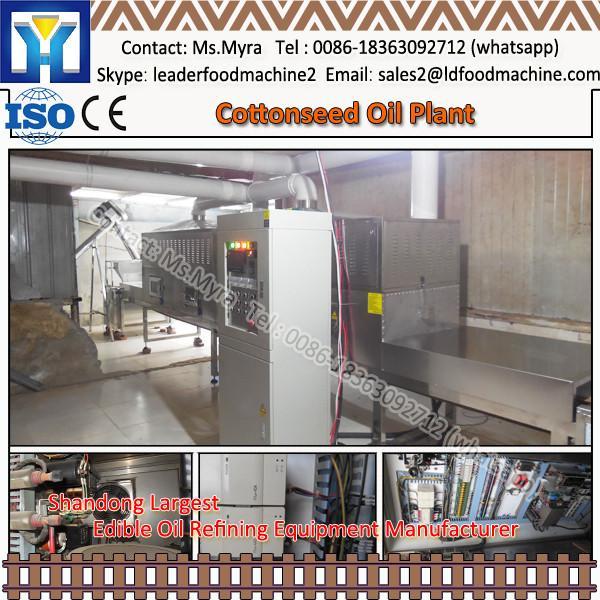30 ton continuous canola oil refining process #1 image